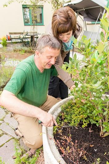 AUSGEBUCHT: Gartengestaltung und Begegnung