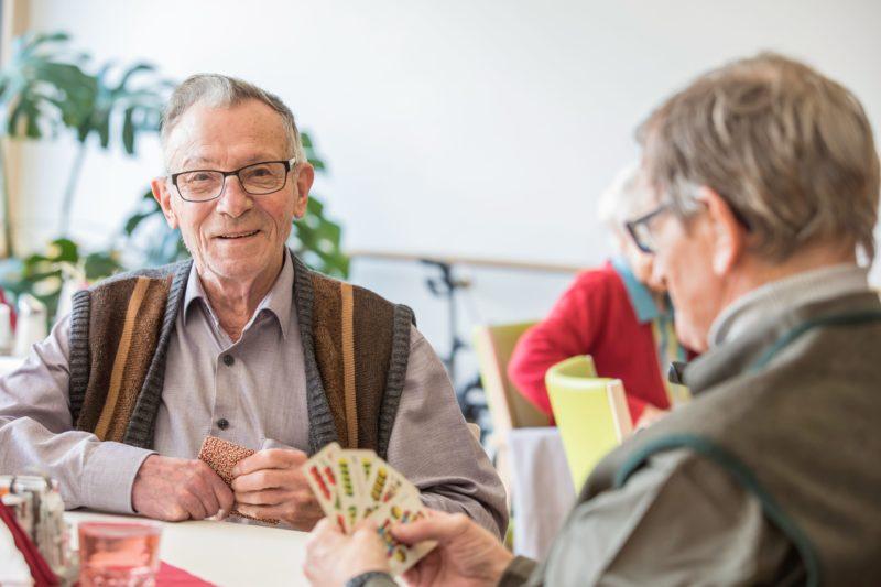 Begleitung im Senioren-Tageszentrum