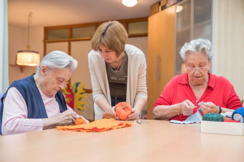 Mitmachen, zuschauen, informieren. Senioren-Tageszentrum erleben