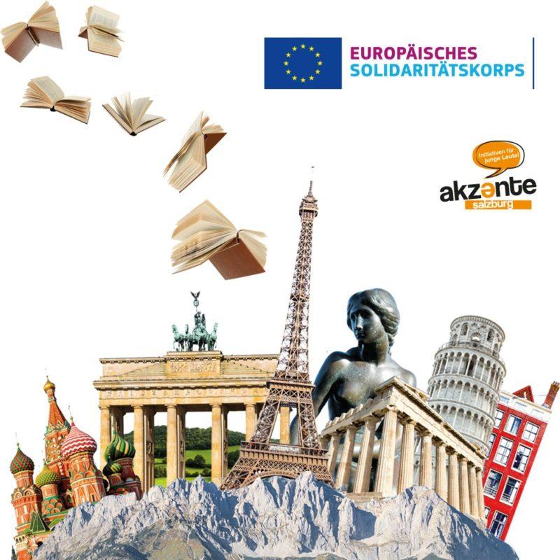 Europäische Freiwillige als lebendige Bücher