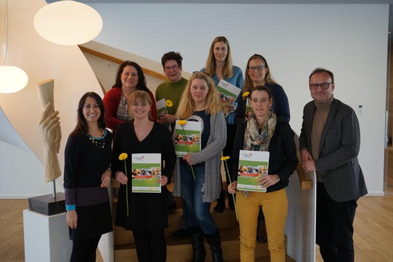 Freiwilligenzentrum gratuliert sechs neuen Freiwilligenkoordinatorinnen!